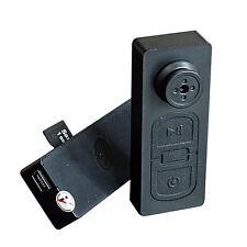 Spy Mini Hidden DV DVR Button Camera Support 8GB 16GB 32GB Microsd Card Alert
