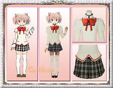 Japan Anime Puella Magi Madoka Magica Mitakihara Middle School Uniform