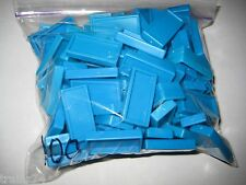 100 Pressman DOMINO RALLY DOMINOES  Replacements- Light Blue