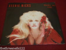 "VINYL 7"" SINGLE - STEVIE NICKS - ROOMS ON FIRE - EM 90"