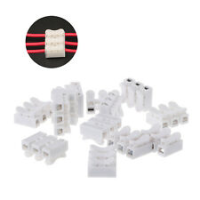 50Pc Universal 3P Push In Wire Connector Terminal Block For LED Strip Light Lamp