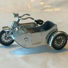 Lesney of England matchbox motor bike with side car