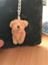 "Miniature Teddy Bear Little Ted 24"" Necklace"