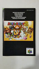 Mario Party 2 NINTENDO 64 N64 / manual booklet only / very good condition