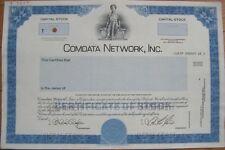 'Comdata Network, Inc.' SPECIMEN Stock Certificate