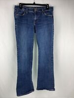 Old Navy The Sweetheart Womens Blue Denim Jeans Boot Cut Size 6 Short