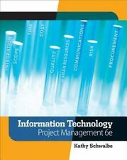 Information Technology Project Management by Kathy Schwalbe (2009, Paperback)