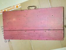 VINTAGE CARPENTERS TOOL CHEST / BOX - USED - GOOD CONDITION