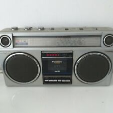 National Panasonic Boombox Retro RX-5025LE Ambience Stereo Radio Cassette Player