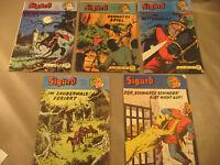 Sigurd Nr.7-6-17-9-8 Konvolut Zustand 1-2.Originale 1970.Jahre