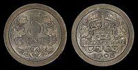NETHERLANDS 5 CENTS 1908 (CHOICE UNC) *PREMIUM QUALITY*