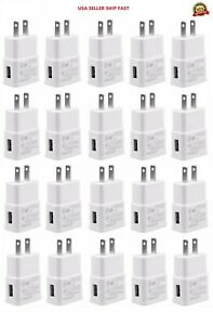 Wholesale 2A USB Wall Charger Plug Home Power Adapter For iPhone Samsung Android