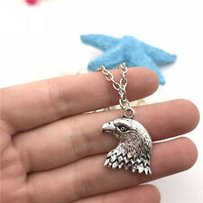 Eagle Necklace Charms Jewelry Tibet silver Pendant Chain Necklace