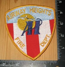 Airway Heights Fir Department Cloth Patch Only