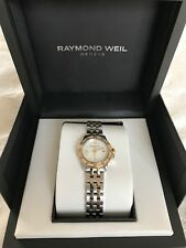 Raymond Weil Tango Gold/Stainless Steel Diamond Watch with mother of pearl dial