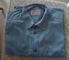 ARMANI Jeans camicia uomo maniche lunghe