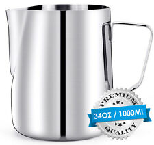 350/600/100ML Espresso Milk Frothing Pitcher Jug Coffee Milk Latte Frothing Cup