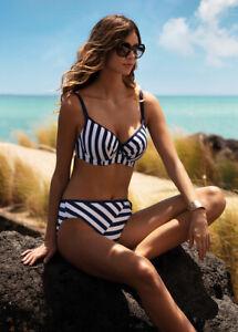 New Fantasie Cote D Azur Moulded Bikini Top ONLY - 30FF Ink