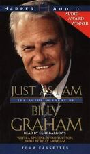 JUST AS I AM Autobiography Of Billy Graham 4 Cassette Audiobook