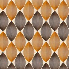 Naranja Chocolate Retro Papel Pintado Geométrico Huso Forma Diseño 34067-3