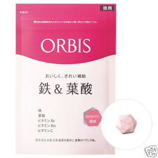 ORBIS Iron and Folic Acid Tablet 150 tablets for 75-150 days Strawberry Flavor