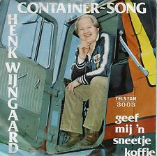 7inch HENK WIJNGAARD container song HOLLAND TELSTAR 1980 EX