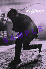 DEFTONES 12x18 BAND POSTER CHINO MORENO WHITE PONY CONCERT LIVE SINGING 1