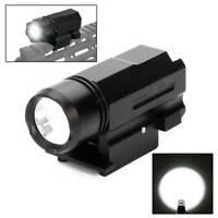 2000LM Pistol Flashlight Hunting Tactical Police Gun Light Picatinny Rail USCC