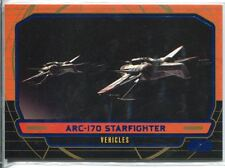 Star Wars Galactic Files Blue Parallel #262 ARC-170 Starfighter