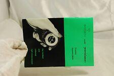 Gosshen Light Meter Instruction Booklet Guide Vintage 6102089