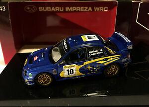 AUTOART 60291 SUBARU IMPREZA WRC 2002  #10 (RALLY MONTE CARLO) 1/43 SCALE