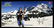 Tanja Pieren Autogrammkarte Original Signiert Skialpine + G 11383