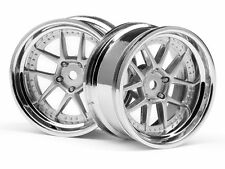 HPI #111276  DY-CHAMPION 26mm WHEEL (CHROME/SILVER/6mm OS/2pcs)