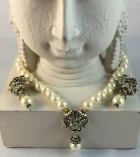 "HEIDI DAUS ""Pretty Posey"" Beaded Necklace and Earrings Set"