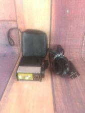Vintage Vivitar Auto Flash 252 Zip Carry Case Power Cord Photo Camera
