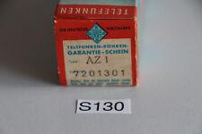 Telefunken AZ1 Röhre in OVP (S130-R70)