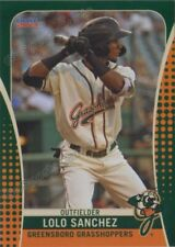 2019 Greensboro Grasshoppers Lolo Sanchez RC Rookie Pittsburgh Pirates