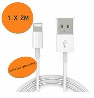 Lightning Kabel 2m Ladekabel für Apple iPhone Original 6 7 8 11 X Xr Xs Max Ipad