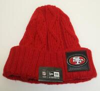 New Era Adult NFL San Fransisco 49ers acrylic toque One Size Fits All NWT