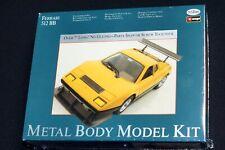 Testors Ferrari 512 BB Yellow Metal Model Kit 1:24 Scale Die Cast NEW SEALED