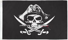 Deadman Chest Tricorner 3X5' Flag Banner Jolly Roger Jack Rackham New