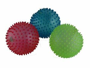 Spikey Bouncing Balls Air Rubber Blow Up Fill Up Spiky Prickly Pointy Balls