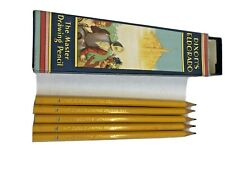 Vintage Dixon's Eldorado Master Drawing Five Pencils F with Box Advertising