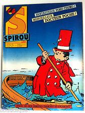 c)SPIROU N°2389 du 26-01-1984; Merveilleux Docteur Poche !