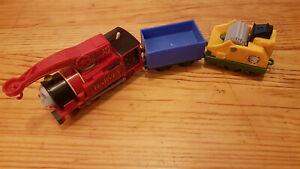 Thomas & Friends Trackmaster Thomas The Tank Motorised Helpful Harvey Train