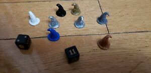 Harry Potter Mystery at Hogwarts Board Game Parts Pieces Replacement Tokens Lot