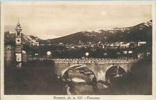 Cartolina di Dronero - Panorama - Cuneo -  Viaggiata 1934