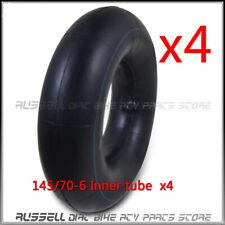 145/70-6 Tire Inner Tube For 50-125cc Pocket Hummer ATV Quad Bike Go kart 4PCS