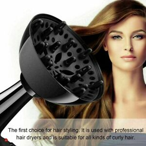 Hairdressing Blower Cover Universal Styling Salon Curly Hair Dryer Diffuser USA