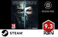 Dishonored 2 + Imperial Assassin's DLC [PC] Steam Download Key - FAST DELIVERY